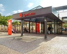 Sparkasse Geldautomat Bahnhofsvorplatz