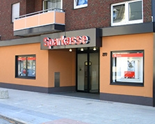 Sparkasse Geldautomat Beckhausen