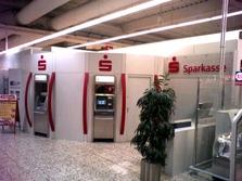 Sparkasse Geldautomat real Supermarkt Wesel