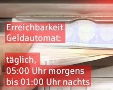 Sparkasse Geldautomat Waal