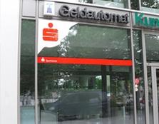 Sparkasse Geldautomat ÖSA Kundendienst Center