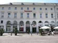 Sparkasse Geldautomat Marktplatz Karlsruhe