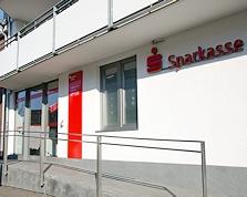 Sparkasse Geldautomat Bergrath