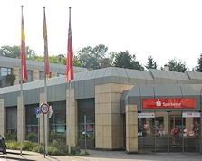 Sparkasse Geldautomat Stolberg - wegen Hochwasserschäden vorübergehend geschlossen