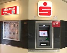 Sparkasse Geldautomat  EKZ FRITZ