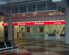 Sparkasse Geldautomat Flughafen München Airport Center