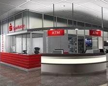 Sparkasse Geldautomat Flughafen Terminal 2 Ebene 3