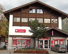 Sparkasse Geldautomat Oberstdorf
