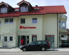 Sparkasse Geldautomat Kempten - Auf der Halde