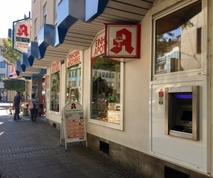 Sparkasse Geldautomat Darmstadt, Ludwigsplatz / Einhorn Apotheke