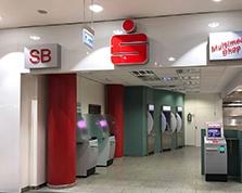Sparkasse Geldautomat Marler Stern