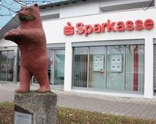 Sparkasse Geldautomat Berliner Straße