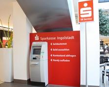 Sparkasse Geldautomat Westpark