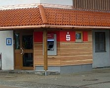 Sparkasse Geldautomat Wald