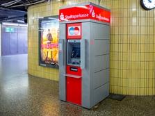 Sparkasse Geldautomat Neuperlach Zentrum (PEP), U-Bahn Zwischengeschoß