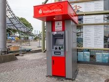 Sparkasse Geldautomat Olympiazentrum, Olympiahalle