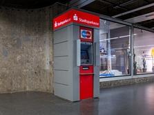Sparkasse Geldautomat Odeonsplatz, U-Bahn Zwischengeschoss