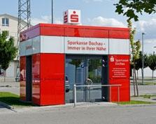 Sparkasse Geldautomat Fachmarkt-Center Karlsfeld