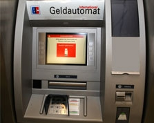 Sparkasse Geldautomat Zeche Zollverein / Besucherzentrum