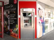 Sparkasse Geldautomat Knuffmann Krefeld