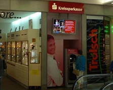 Sparkasse Geldautomat Ludwigsburg WilhelmGalerie