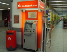 Sparkasse Geldautomat City Carre