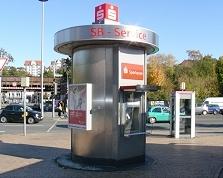 Sparkasse Geldautomat Flensburg-ZOB