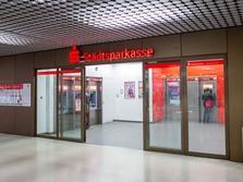 Sparkasse Geldautomat Stachus Zwischengeschoss
