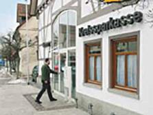 Sparkasse Geldautomat Gingen