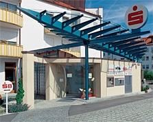 Sparkasse Geldautomat Landsberg, Lechwiesenstraße