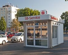 Sparkasse Geldautomat Hanau Hauptbahnhof