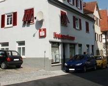 Sparkasse Geldautomat Vaihingen an der Enz (Roßwag)