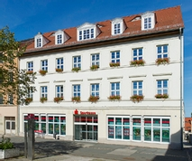 Sparkasse Geldautomat Hauptgeschäftsstelle Weißenfels