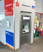 Sparkasse Geldautomat Hagebaumarkt Arens und Hilgert