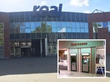 Sparkasse Geldautomat real Supermarkt Dinslaken