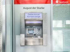 Sparkasse Geldautomat Dresden Am Goldenen Reiter