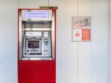 Sparkasse Geldautomat Dresden Rathaus Cotta