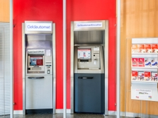 Sparkasse Geldautomat Glashütte
