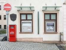 Sparkasse Geldautomat Stolpen