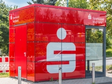 Sparkasse Geldautomat Reumtengrüner Straße