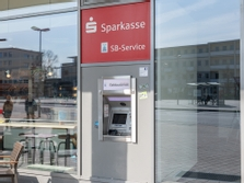 Sparkasse Geldautomat WOB Jobcenter