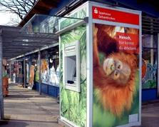 Sparkasse Geldautomat ZOOM-Erlebniswelt