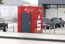 Sparkasse Geldautomat Dornstadt Werdich-Parkplatz