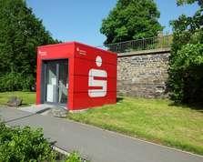 Sparkasse Geldautomat Greiz Kreisverkehr
