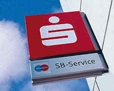 Sparkasse Geldautomat Ellerstadt