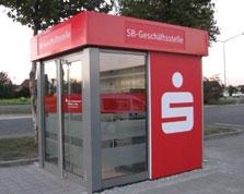 Sparkasse Geldautomat Dillingen, Schretzheim