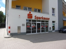 Sparkasse Geldautomat Klosterfelde - SB Bereich