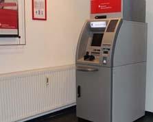 Sparkasse Geldautomat HIT Technopark
