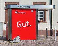 Sparkasse Geldautomat Hauingen