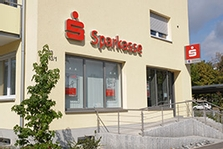 Sparkasse Geldautomat Erenlauh